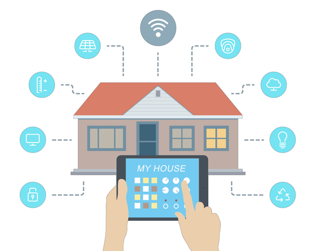 internet of things - home